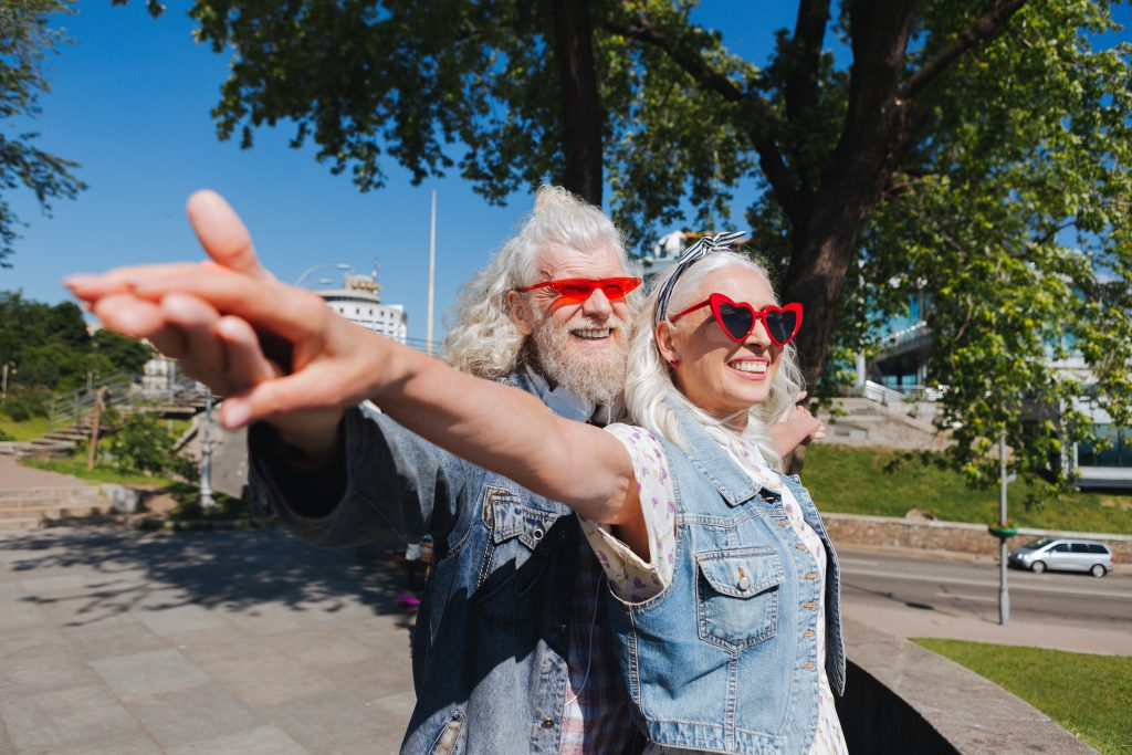 Older Adults Connected and Happy